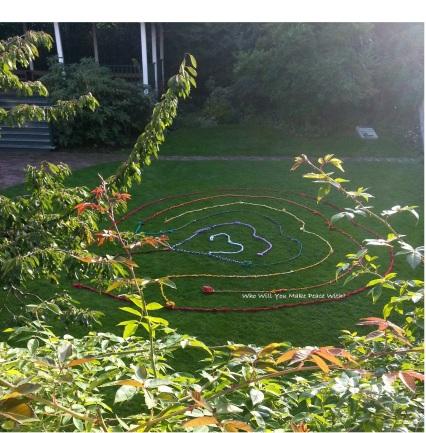 Rainbow Labyrinths @ St. Anne's Academy